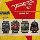 FLEISCHMANN CATALOG 1961-62 trains locomotives station Original Italian edition