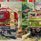 MARKLIN CATALOG 1961-62 trains locomotives stations wagons models Italian edition