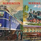MARKLIN CATALOG 1960-61 trains locomotives stations wagons models Italian edition