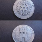 ROTARY INTERNATIONAL MEDAL in sterling silver 925 Original from 2002 Rome Italy