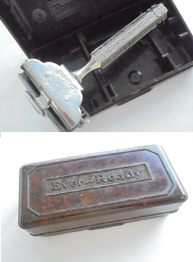 EVER READY SHAVING razor Made in England 1912 Original in it's box