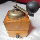 COFF COFFEE GRINDER in wood and metal Original from 1960s Working