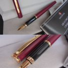 SHEAFFER FASHION fountain pen in matted red Original in gift box with garantee