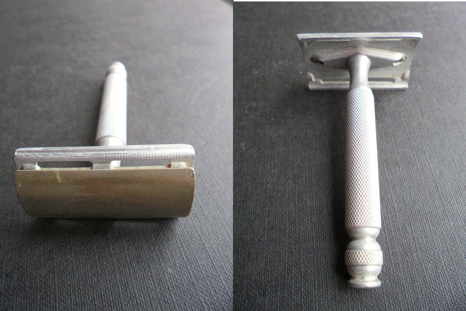 GILLETTE SHAVING RAZOR Model Aristocrat Made in England Original 1960s