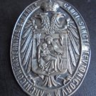ARCICONFRATERNITA S. MARIA CAMPI Sancti Teutonicorum in silver 800 Original Germany 1930s