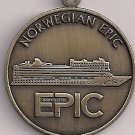 NORWEGIAN EPIC cruise ship BRONZE medal for the inauguration 2010