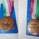 GUGLIELMO MARCONI BRONZE medal 100th anniversary from his birth Original 1974