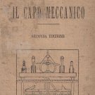 Il CAPO MECCANICO Libro Manuale HOEPLI by S.Dinaro 1919 Mechanics book manual