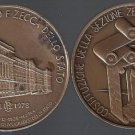 BRONZE MEDAL of the Italian ZECCA 50th anniversary Original Italy 1978