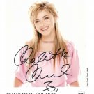 CHARLOTTE CHURCH photo with hand signed autograph Original 1990s