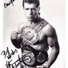 VITO ANTUOFERMO box champion Original hand signed autograph on photo