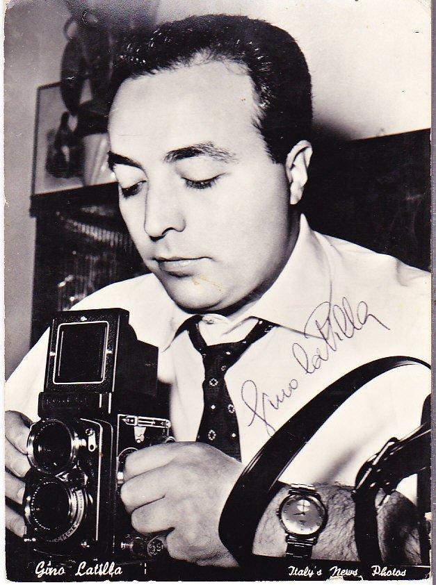 GINO LATILLA Original photo with hand signed hansigned autograph