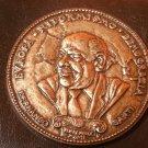 BRONZE medal of FERNANDO SANTI Italian Partito Socialista Socialist party 1989
