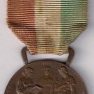 BRONZE MEDAL to the merit of the Intitute GONZAGA in Milan Italy Originale 1945-46