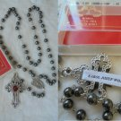 ROSARY necklace with RELIC of Saint Pope John Paul II Wojtyla Original 2014 in box