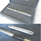 NAZARENO GABRIELLI fountain pen in steel and gold color Original in gift box
