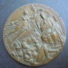 BRONZE MEDAL 2000 anniversary Virgilio MARONE death Terre di Saturno engraved by Romagnoli 1930