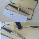CROSS AVENTURA fountain pen in blue color and steel In gift box +garantee Original
