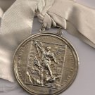 MEDAL in sterling SILVER 925 of Saint GEORGE Original Sacred Military Constantinian Order 1832