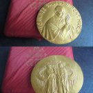 JOHN PAUL II bronze medal Original 1990 for his trip to Mali Ciad Cape Verde engraver Manfrini