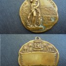 BRASS MEDAL of the city of Siracusa ITALY Original 1960s