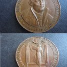 COPPER Medal of MARTIN LUTHER 400th anniversary of the Reformation 1517- 1917 Original