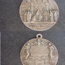 MEDAL in SILVER 800 for the Jubilee in 1925 of the Missionary Catechesis Original