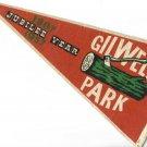 BOYS SCOUTS flag pennant GILWELL Park London Jubilee 1957 Original