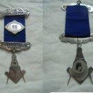 MASONIC BADGE PIN scottish masonery Lodge of Fish Hoek South Africa Original 1996 Freemasonry