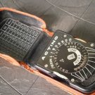 Exposure calculator ACTINO CINE light meter in metal Original 1950s working
