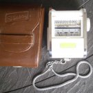 GOSSEN exposure calculator light meter Model SIXTRY 1950s working in its pochette
