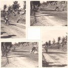 4 original PHOTOGRAPHS motobike race Camerino Italy PHOTOS pictures 1967 with Sottili Mangione