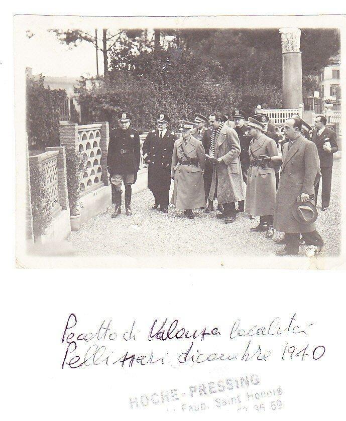PECETTO Valenza Original photograph picture of Italian King Vittorio Emanuele III photo 1940