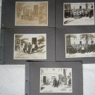 5 Original photographs from 1912 TRIPOLI LIBIA station Captain G. Pession photos pictures
