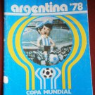 ARGENTINA '78 1978 COPA MUNDIAL Album + 36 stickers Gazzetta Sport