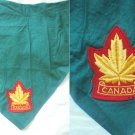 BOY SCOUTS of Canada HANDKERCHIEF original hanky 1960s