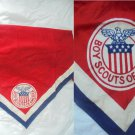 Boy SCOUTS of AMERICA USA United States Handkerchief original hanky 1960s