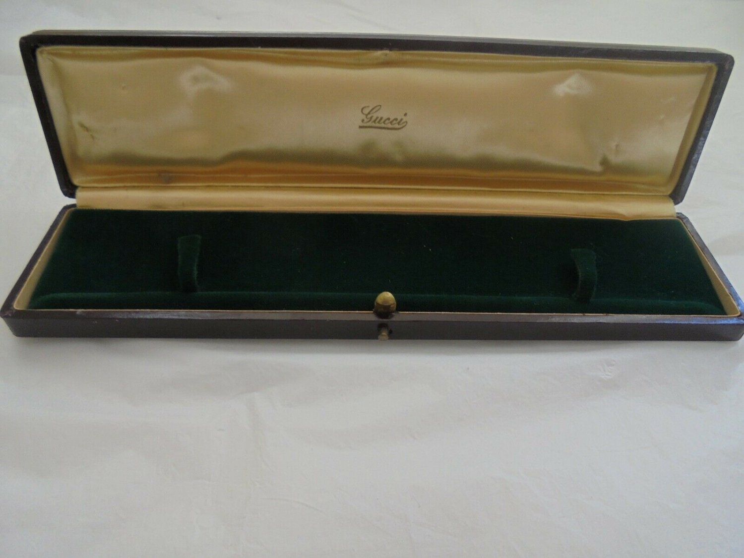 GUCCI jewelry box for BRACELET or WATCH or Jewels Original 1960s