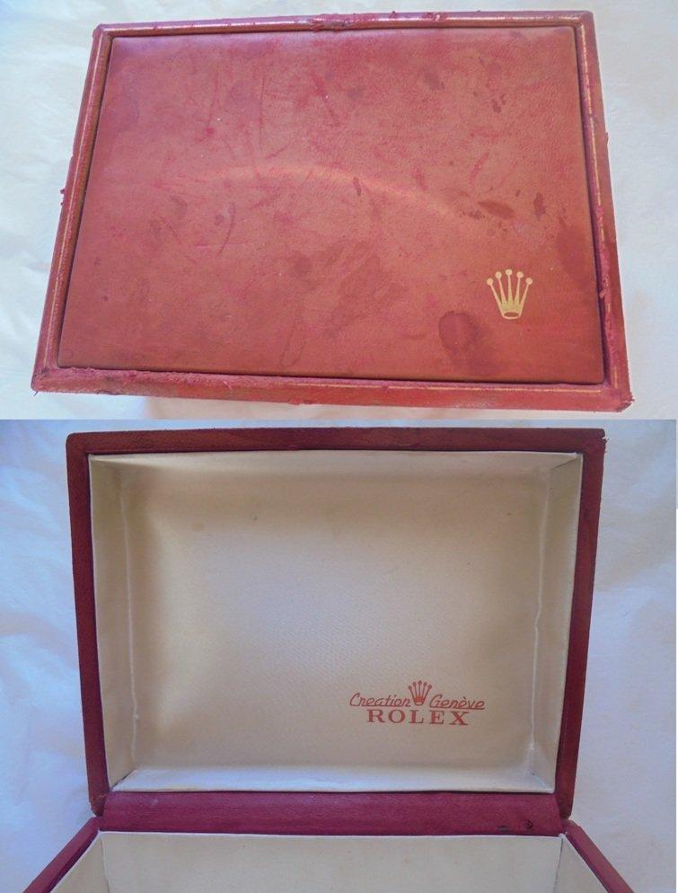 ROLEX WATCH BOX for Daytona number 60.80.3 cm 14 x 10.5 high cm 6.5 Original 1970s