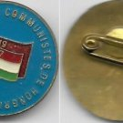 UNION of YOUNG HUNGARIAN Communists 1919-1957 Laque pin Original