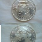 Christopher COLOMBO Italian coin in silver 925 Lire 500 Original 500th anniversary 1991