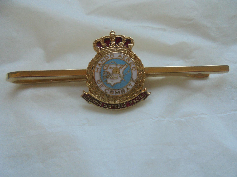 SPANISH AIR FORCE Combat Command Mando Aereo de Combate tie or money clip Aeronautic Original