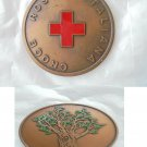 Italian RED CROSS medal in bronze Original Croce Rossa Italiana