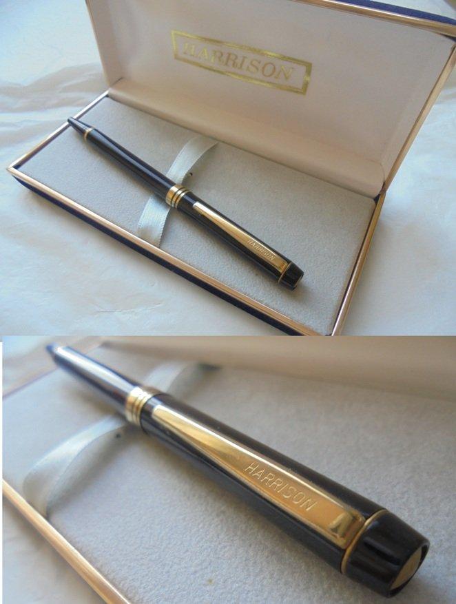 HARRISON ball pen Lacquered black Original in gift box