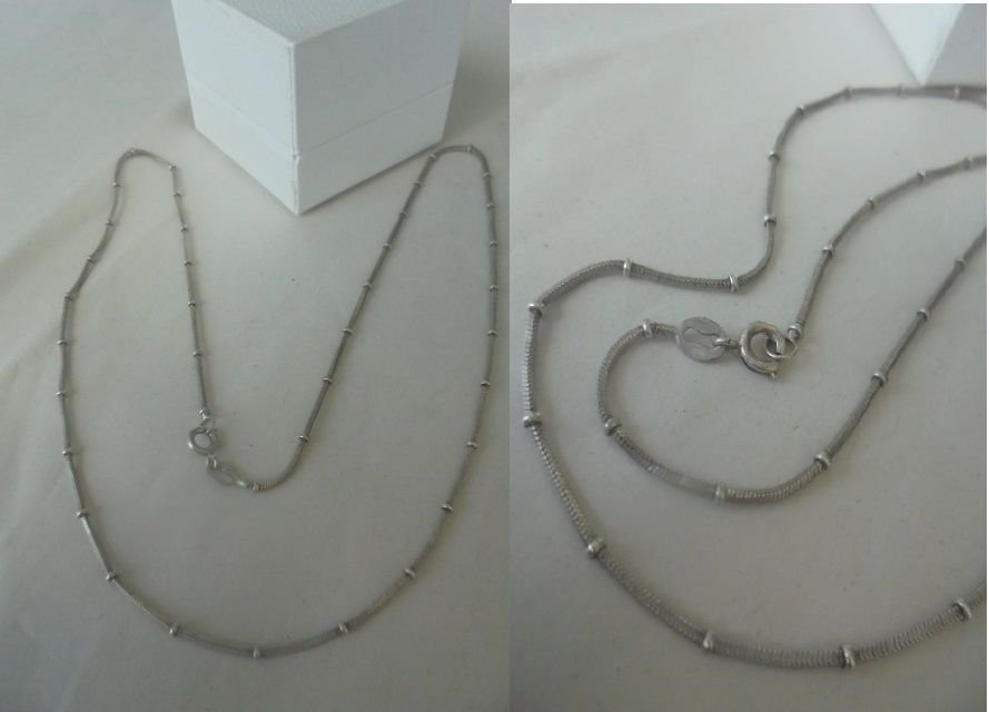 NECKLACE in STERLING SILVER 925 Made in Italy Original in gift box