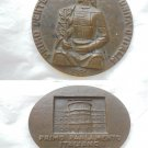 100TH ANNIVERSARY unity of ITALY Centanario Unità Italia bronze medal Palazzo Carignano Torino 1961