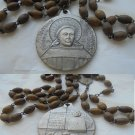 Praying rosary SAINT ANTHONY of PADOVA Sant'Antonio for 700 years from birth Original 1295 - 1995