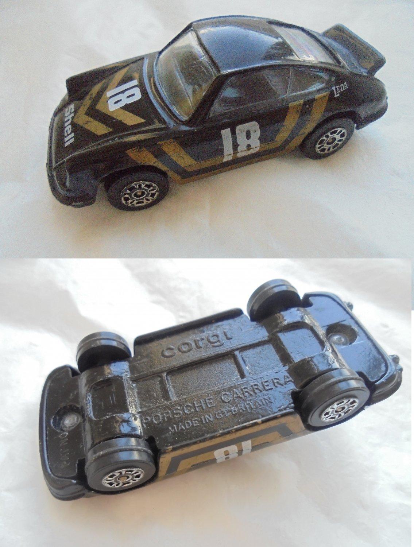 CORGI UK car model PORSCHE Carrera in metal