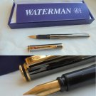 WATERMAN GRADUATE fountain pen in darkened steel In gift box with garantee