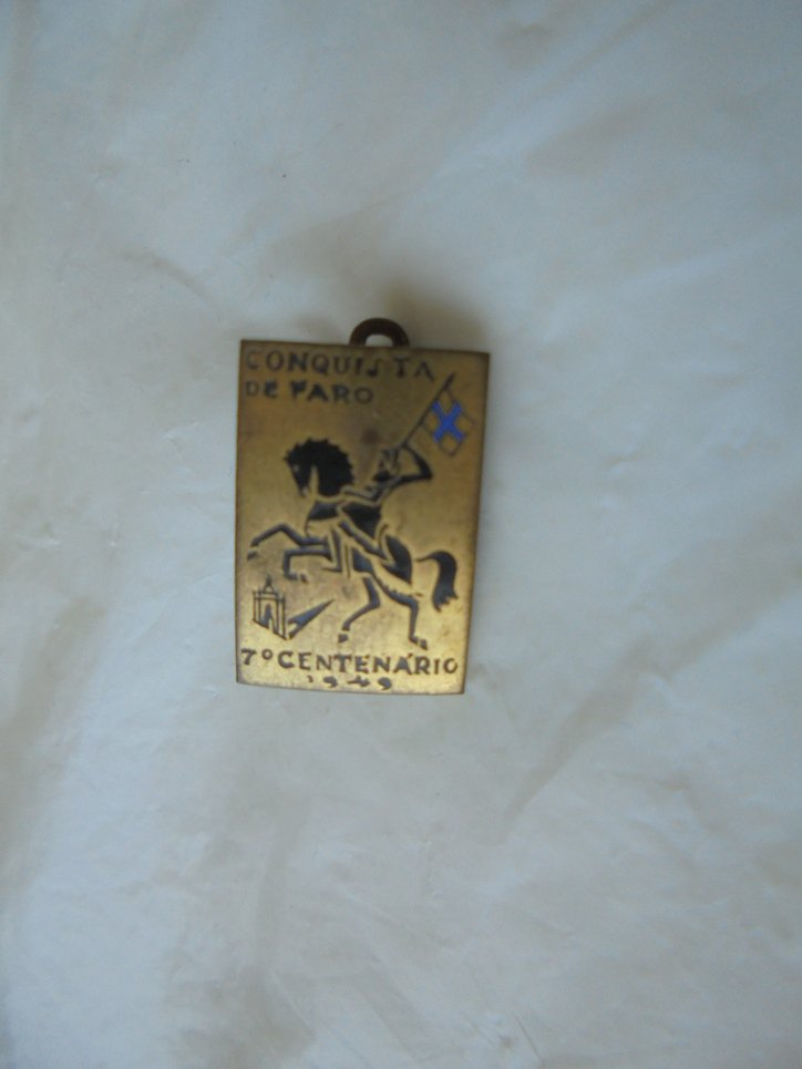 PIN for the Anniversary 7th CENTENARY of the city of Faro in Portugal in metal lacquè